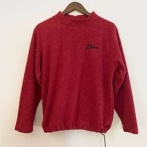 Vintage BOCA Cowl Neck Drawl String Pullover Sweater